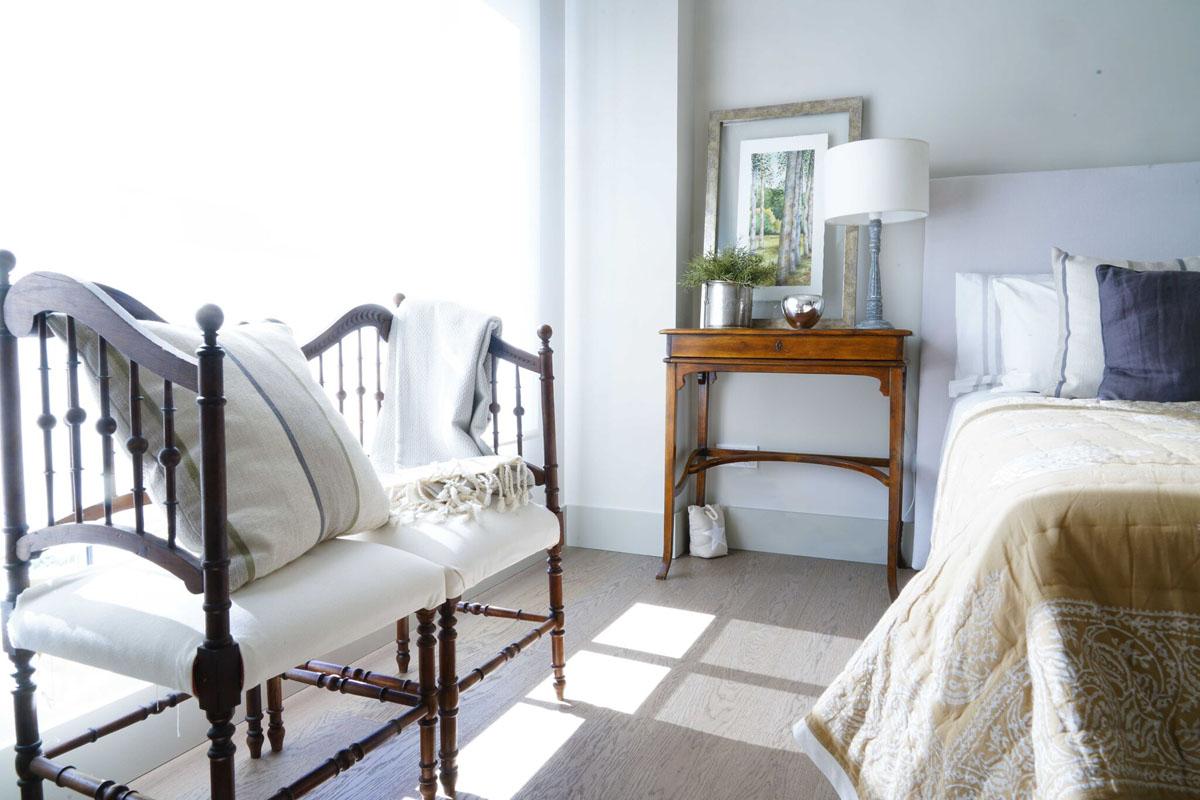 Decoración dormitorio tonos cálidos