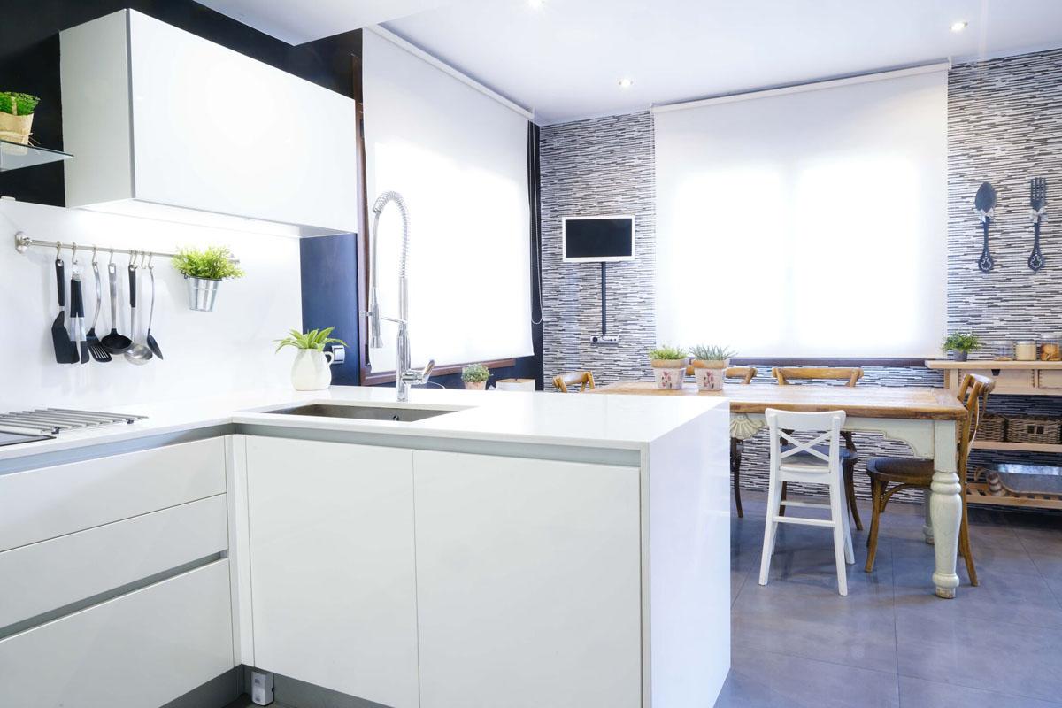 Cocina Moderna vivienda majadahonda