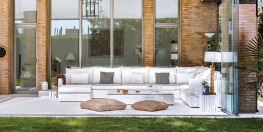 Sofas blancos Porche