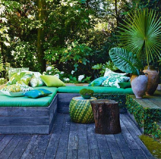 cómo decorar porches y terrazas