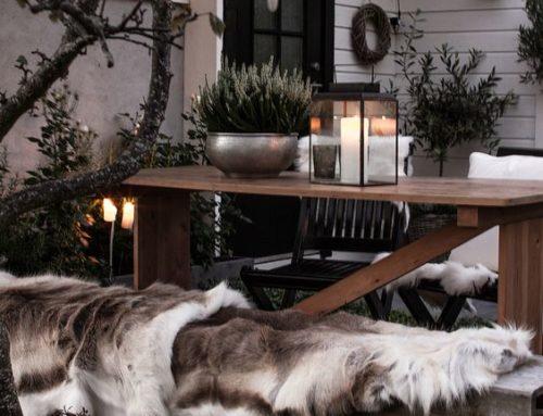 Porches y terrazas de invierno para disfrutar