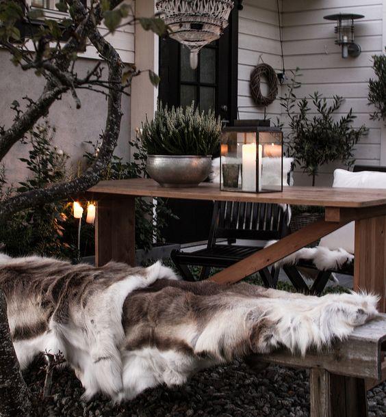 Porches y terrazas de invierno