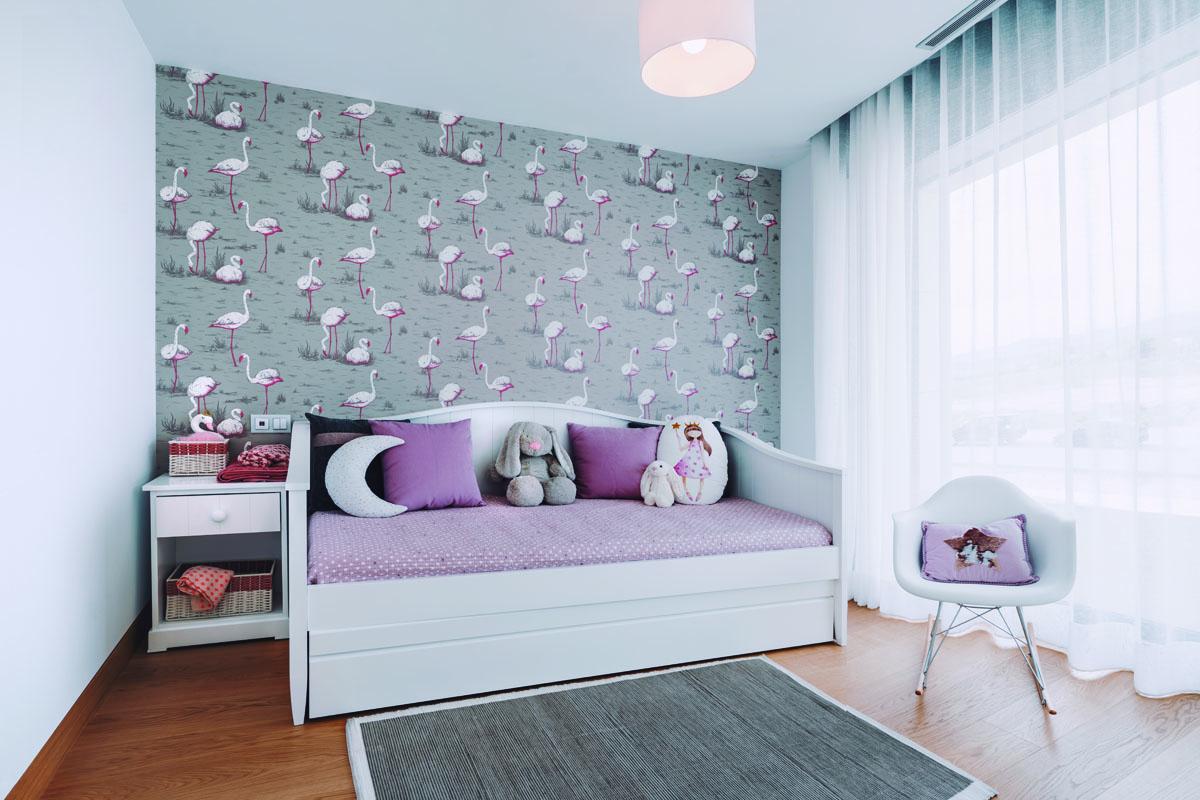 Decoración Dormitorio infantil papel pintado