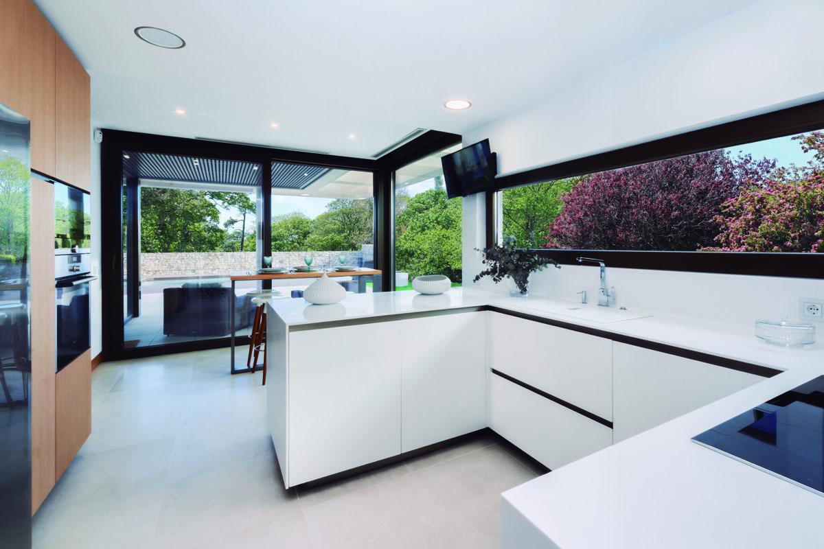 Interiorismo de cocina moderna